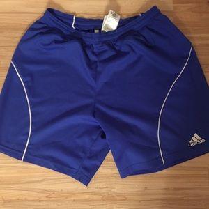 Adidas soccer running shorts